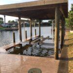 Custom Boat Lift Installation, Boat House, Custom Dock