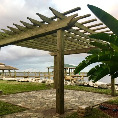 Custom Pergola Builder Brevard County FL