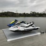 Jet Ski Lift with Flow through Decking