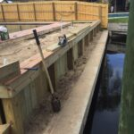 Brevard County Seawall Construction