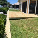 Custom Back Deck, Brevard County Backyard Decks