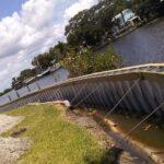 Vinyl Seawall Installation Brevard County FL