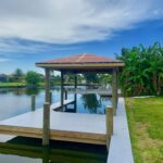 Custom Boat house with Cover & Composite Decking